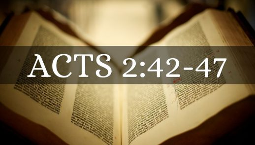 """Acts 2:42-47 """"Restoring the Fear of God in the City"""""""
