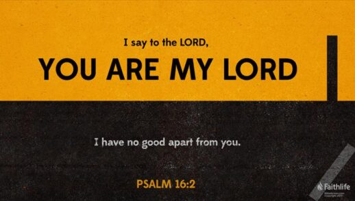 God; Our Refuge, Inheritance, and Counsellor